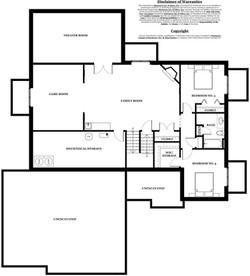 Lincoln Model Home - basement