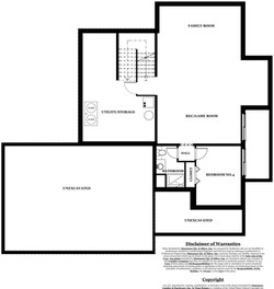 Taylor Model Home - basement