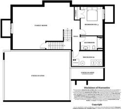 Monica Model Home - basement