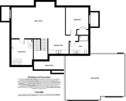 Ivy Model Home - Basement