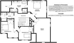 Chesterfield Model home - upper