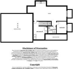 Aspen Model Home - basement