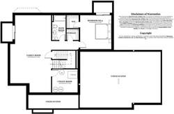 Chesterfield Model home - basement