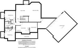 Manhattan Model Home - basement