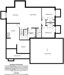 Berkley Model Home - Basement