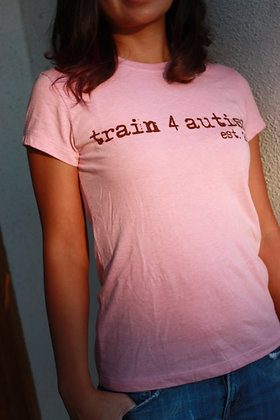 Women's Cotton Tee Pink