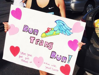 When your legs get tired, run with your heart!