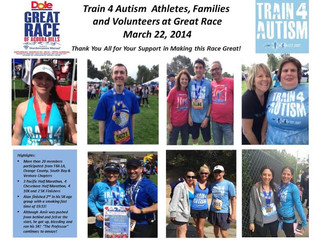 We ran the Great Race of Agoura for Autism!
