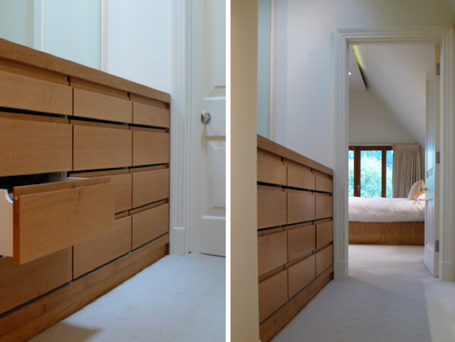 Private House - Wimbledon : Fitting out / specifications / bespoke joinery design.