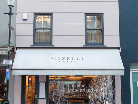 Gazelli house - members club : Planning, building regulations, design of conservatory / events room.