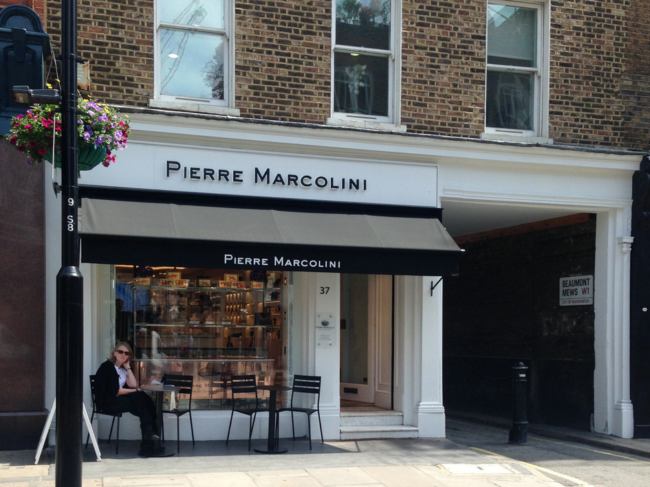 Pierre Marcolini - Marylebone : Planning, landlords approvals, building regulations, Design of support / BOH areas.