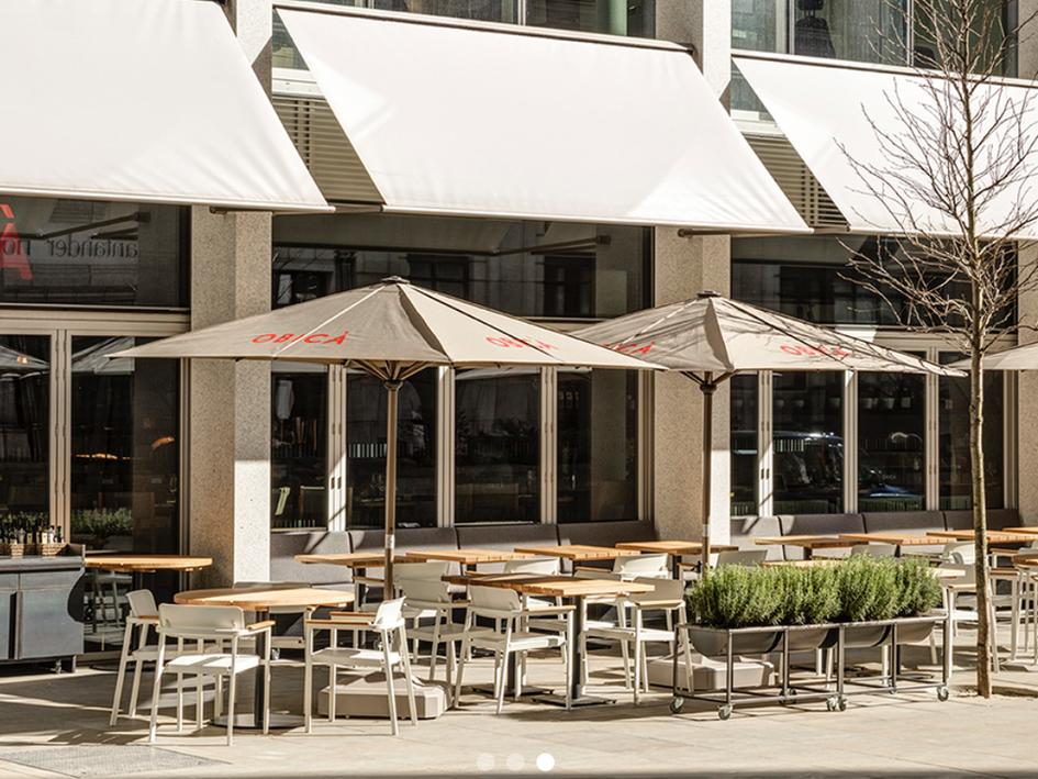 Obica restaurants - London : Planning, licensing, building regulations.
