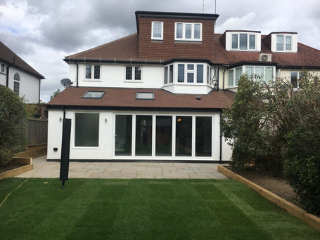 Private house - Esher : Rear extension and loft conversion