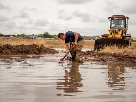Apoya Municipio de Delicias a población afectada por las lluvias