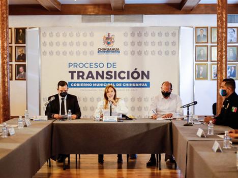 Avanza proceso de transición con mesa técnica de seguridad en Chihuahua Capital