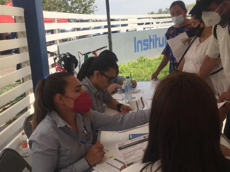 Presidencia Municipal de Delicias apoya en la vacunación contra el Covid-19