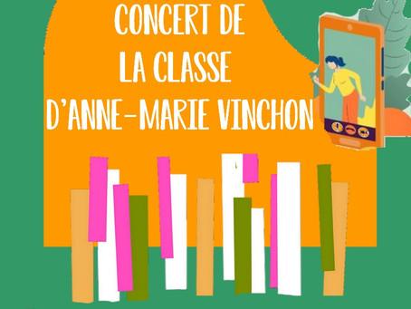 Concert KIDS de la Classe d'Anne-Marie Vinchon