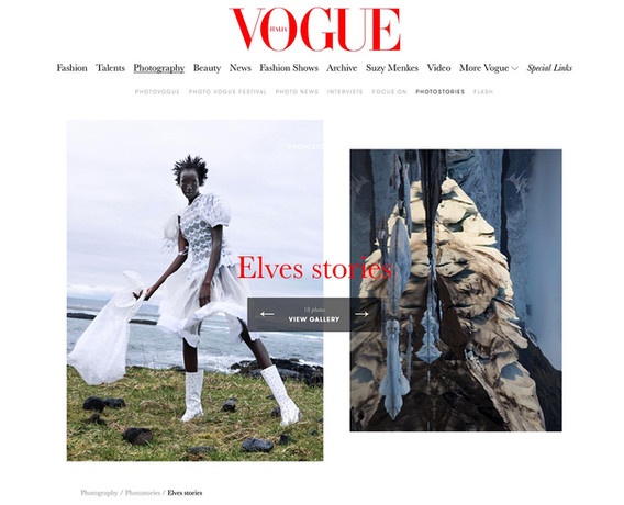 VOGUE ITALIA : Elves stories