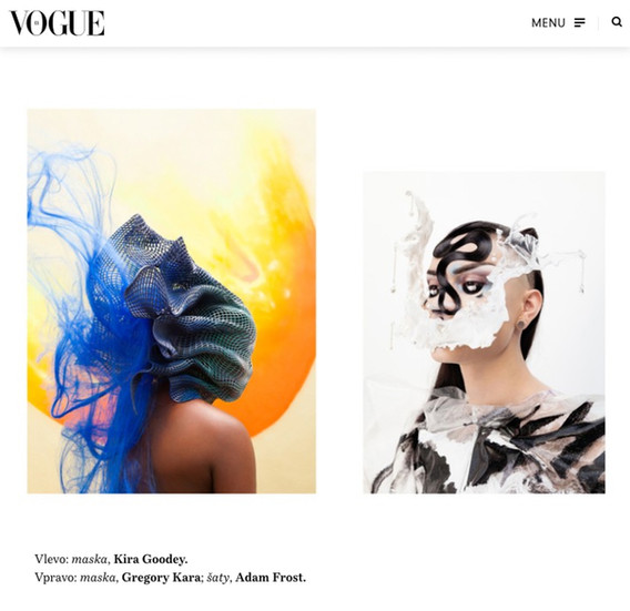 VOGUE CS, fashion story Ultrahumans with Salvia, Hungry and Brenda Beaux