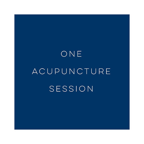 One Acupuncture Session
