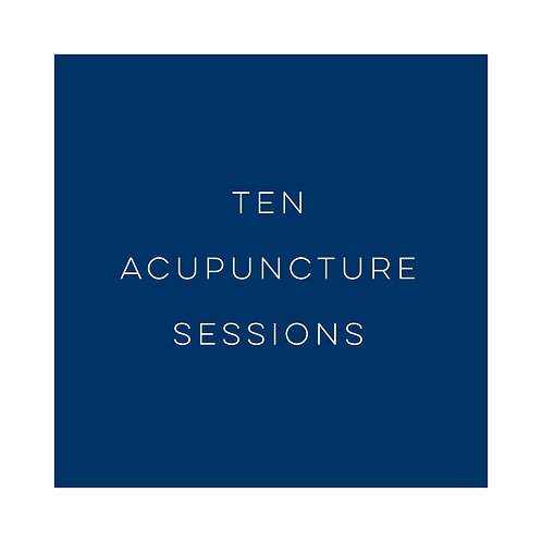 Ten Acupuncture Sessions