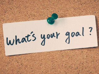 Whatever You Call Them – Goals, Resolutions, Plans – Put Them In Writing