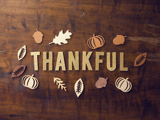 Let's Be Thankful For The Many Blessings Of A Lifetime