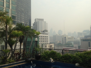 Bangkok - grattacieli, contrasti e iguane
