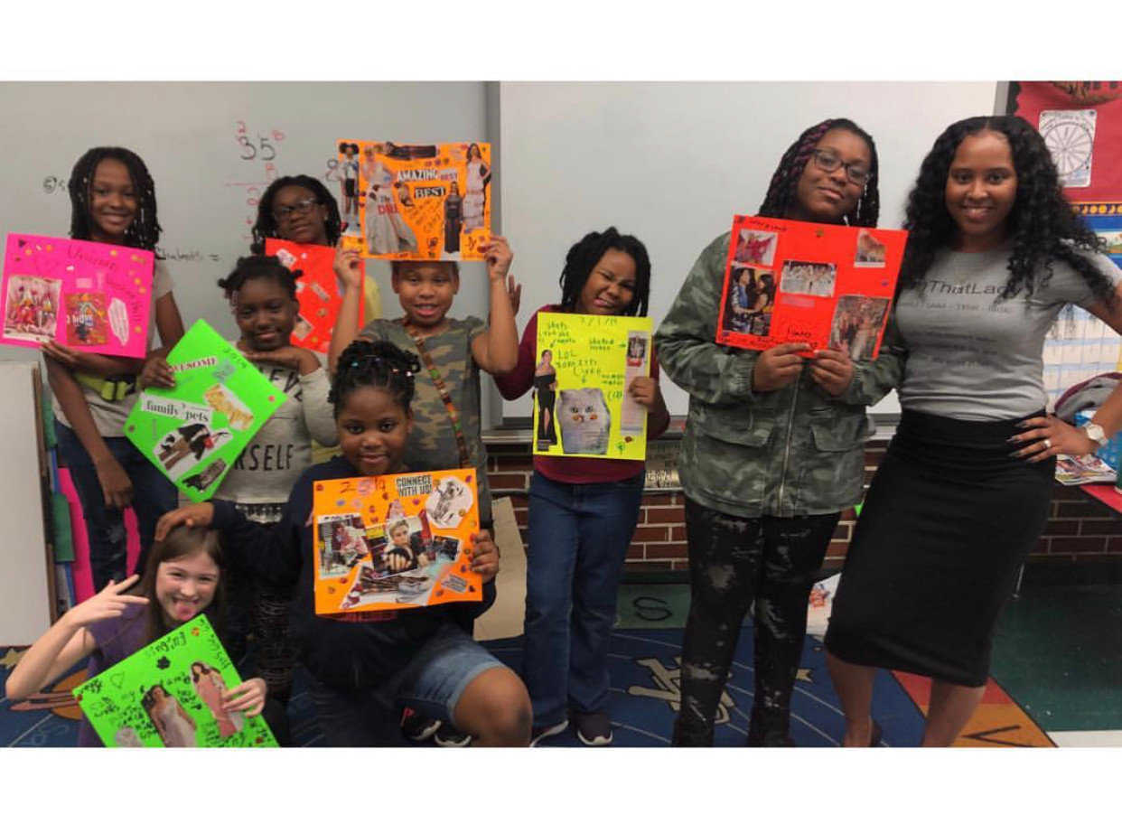 Elementary Vision Board Workshop