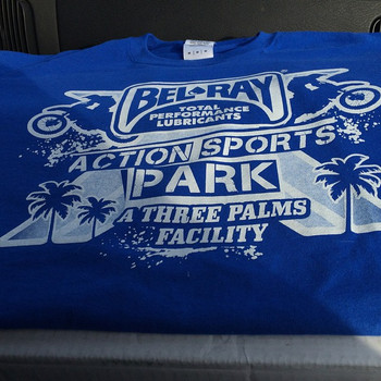 Screen Print shirts for Belray Action Sports Park STAFF! _) they will be rocking these next weekend!