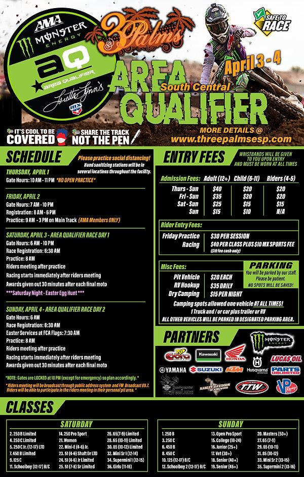 2021 Loretta Lynn Area Qualifier - Flyer