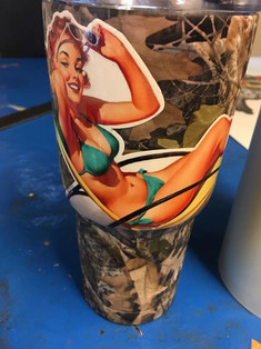 My father in law is a lucky man!! Coolest cup I've made so far!