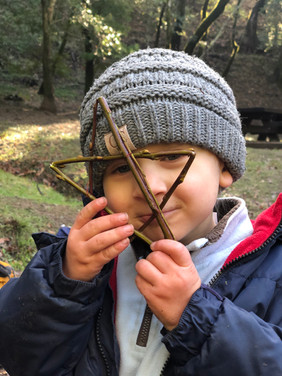 Proud of his willow star