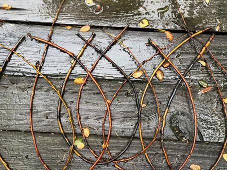 Winter Craft: Treasure Weaving