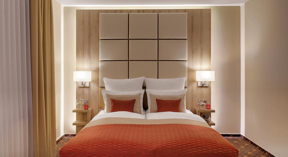 Bett Villa1 Hotel Wegner - The culinary Art Hotel