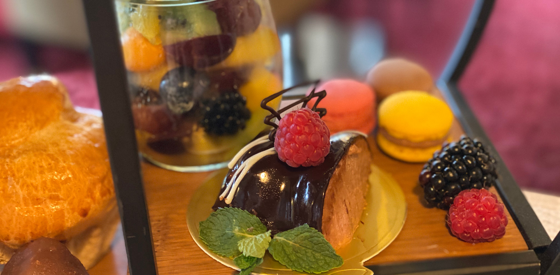 Süßes Afternoon Tea - Hotel Wegner - The culinary Art HotelArt Hotel