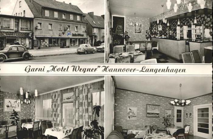 Postkarte Hotel Wegner