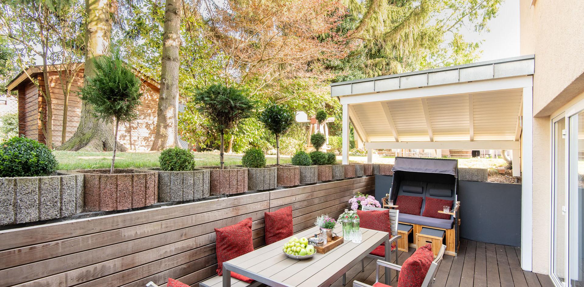 Terrasse Suite Villa1 Hotel Wegner - The culinary Art Hotel