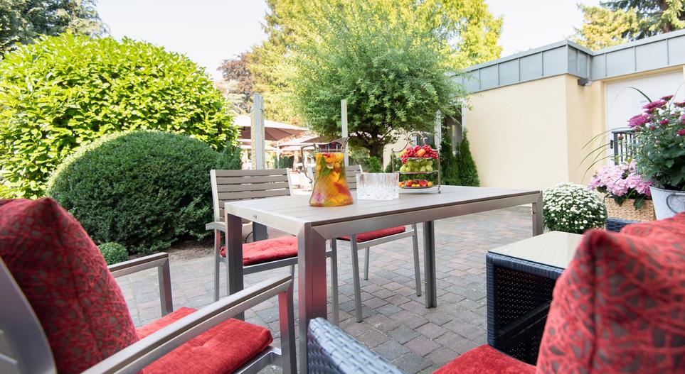 Terrasse Suite Villa 2 Hotel Wegner - The culinary Art Hotel