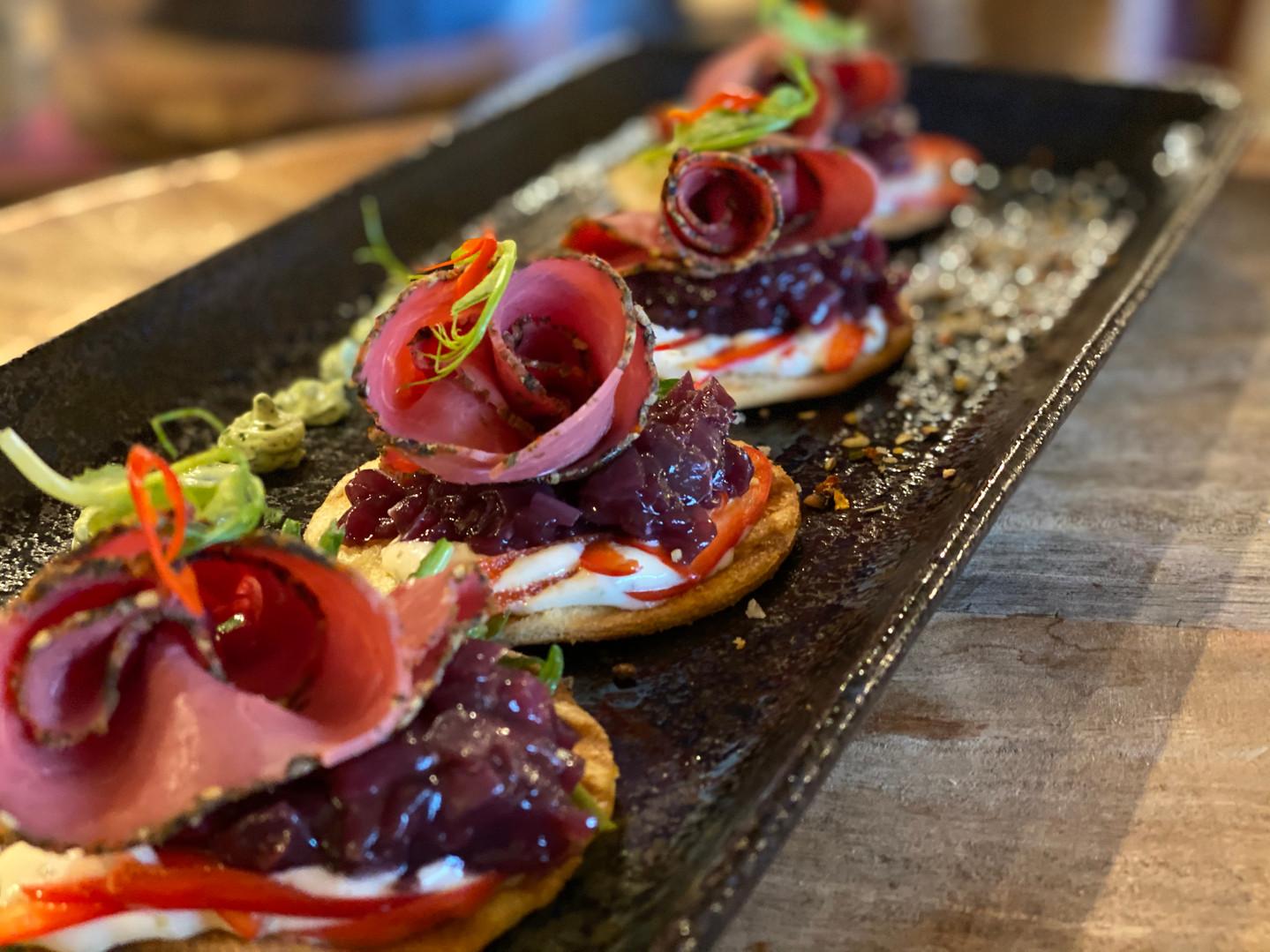 Vorspeise im Hotel Wegner - the culinary art hotel
