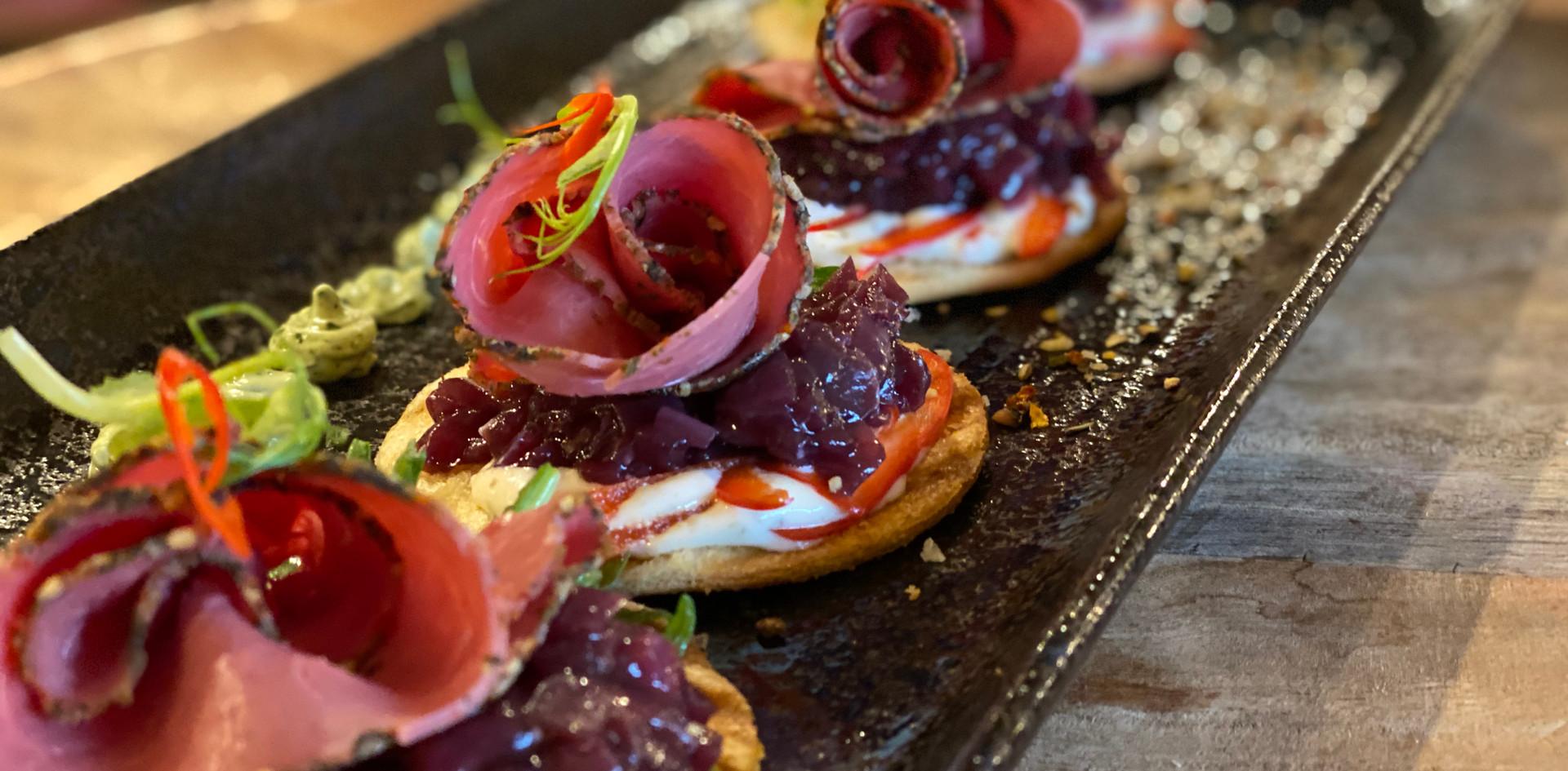 Vorspeise Restaurant Dinner - Hotel Wegner - The culinary Art Hotel