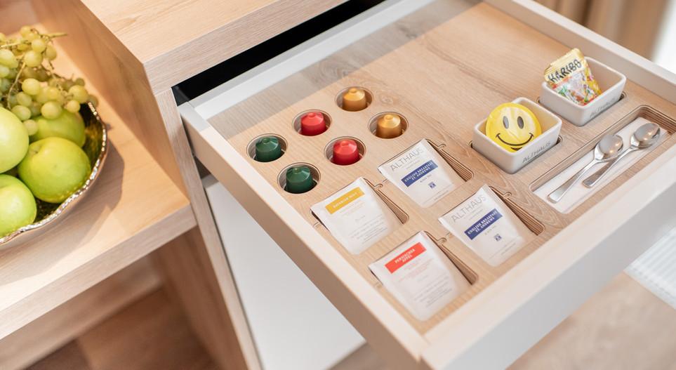 Kaffee/Teestation Villa Hotel Wegner - The culinary Art Hotel