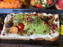Avocado Stulle im Hotel Wegner - the culinary art hotel