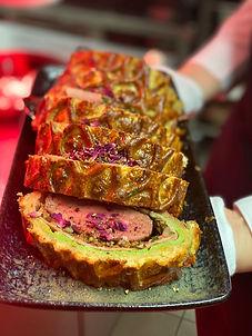 Fillet Wellington Lunch & Sweet im Hotel Wegner - the culinary art hotel