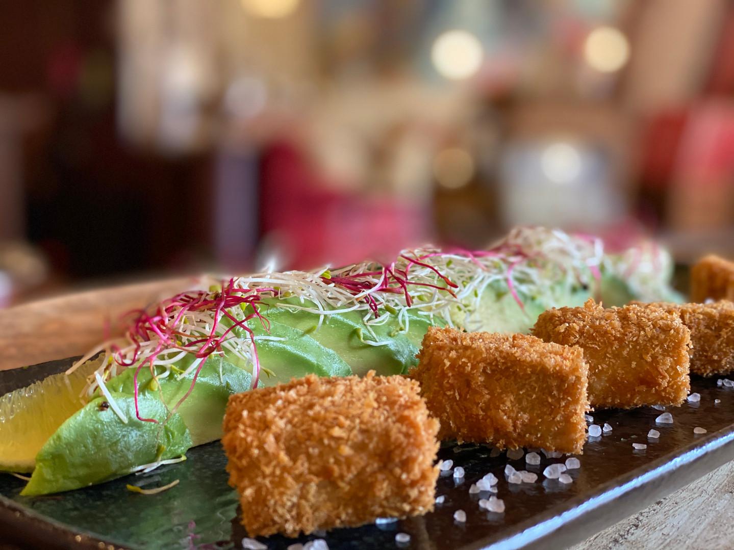 Überbackener Tofu im Hotel Wegner - the culinary art hotel