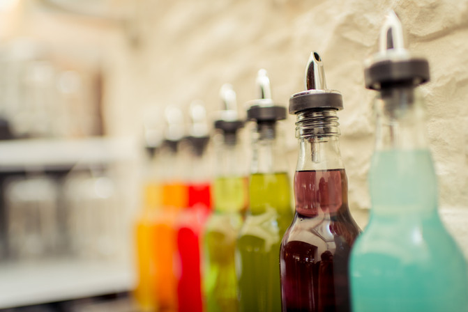 Flavours für alle Kaffeespezialitäten, Milch...