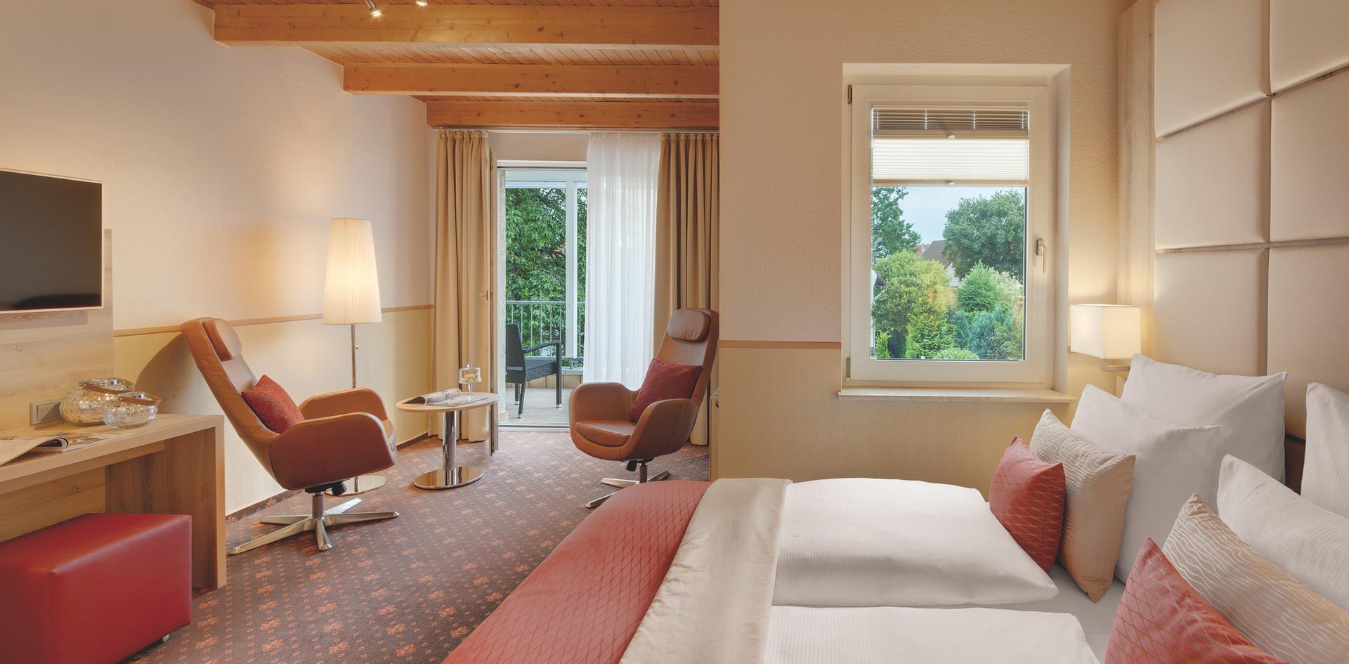 DZ Villa 1 + Balkon Hotel Wegner - The culinary Art Hotel
