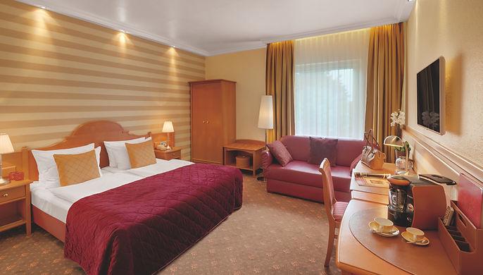 Doppelzimmer Komfort im Hotel Wegner - the culinary art hotel