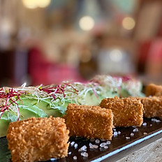 Würzig gebackener Tofu (geräuchert)