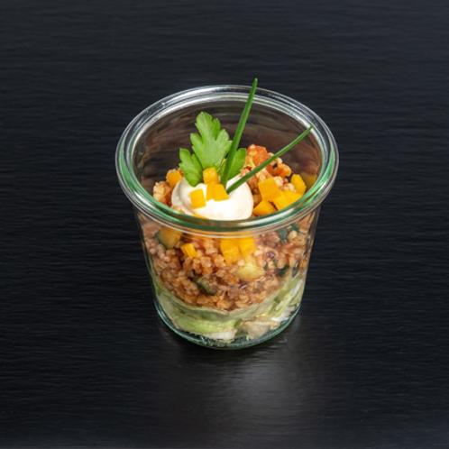 Tabuleh-Salat mit frischer Minze